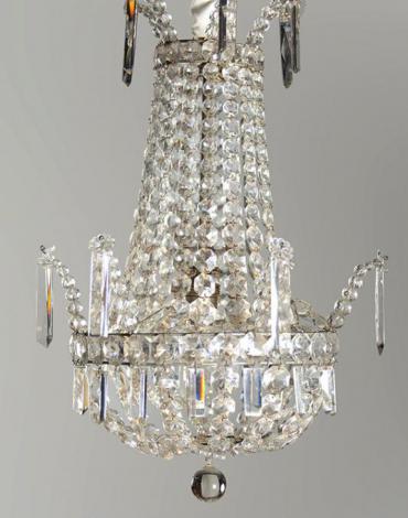 Franzôsischer Kristallner Perlentasche