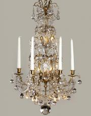 19. Jahrhundert kristallner Kronleuchter