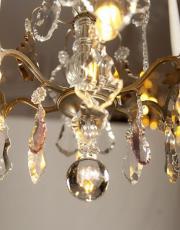 Antiker Kristallner Kronleuchter