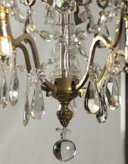Antiker Kronleuchter mit Led Lichter