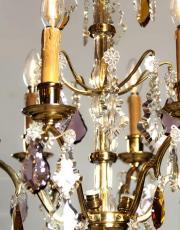Antiker vergoldeter Kronleuchter
