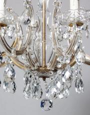 Antique French 1930s Marie therese chandelier