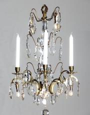 Antike Französische Kronleuchter mit Led Beleuchtung