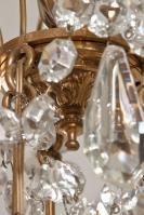 Antieke Franse kristallen Baccarat kroonluchter